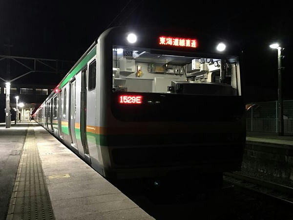 JR上野東京ライン普通列車