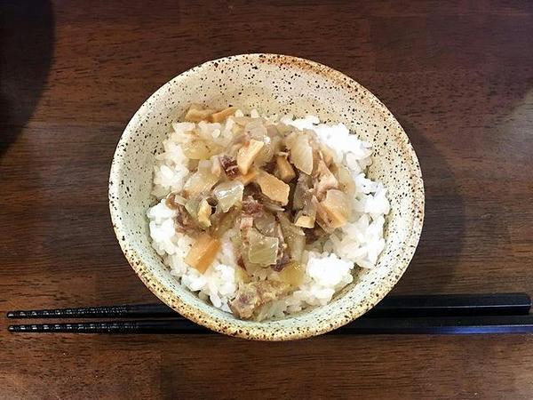 朝らぁ定食Cの朝らぁ麺(単品150円)