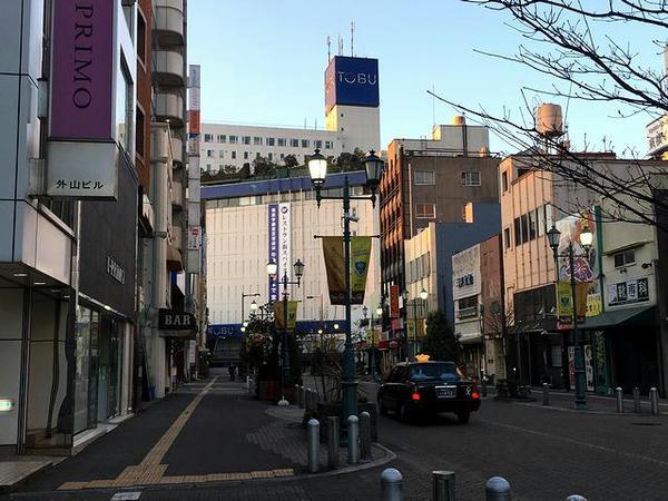 朝の東武馬車道通り
