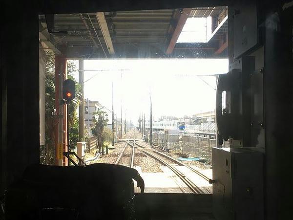 高柳駅は橋上駅化工事も実施中