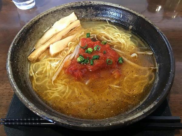 朝らぁ定食Bのベジらぁ麺(単品700円)