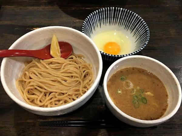 つけ麺 750円 + つけ麺用生卵 60円