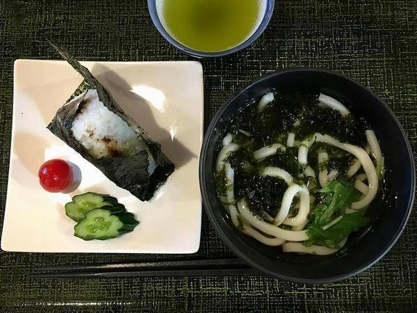 高知空港でいただいた朝食(1)