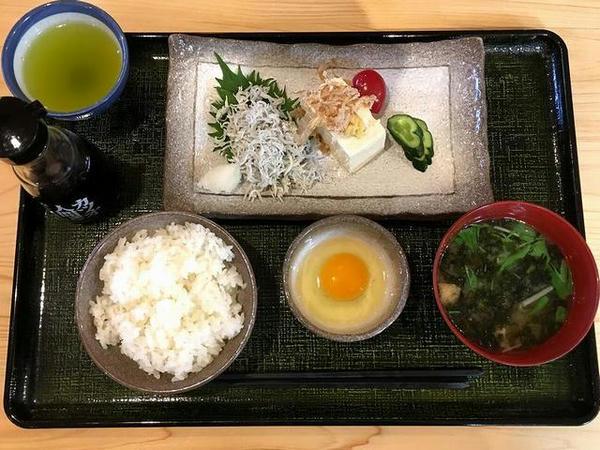 高知空港でいただいた朝食