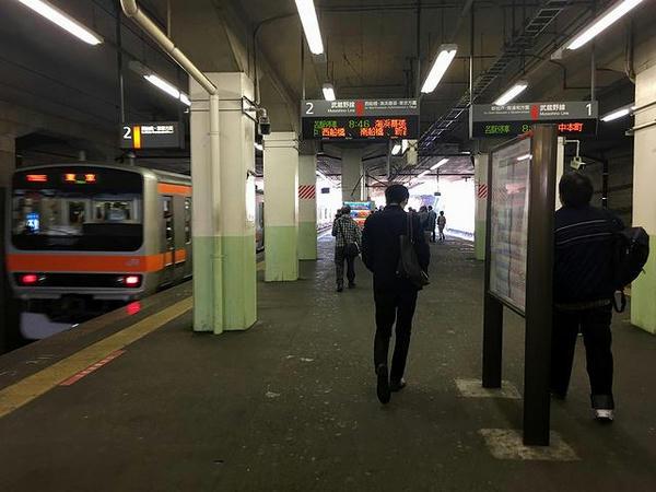 船橋法典駅に到着