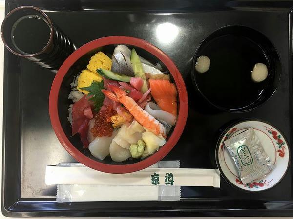 海鮮丼 1450円