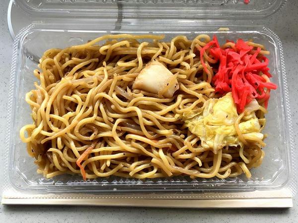 上海焼きそば(タカサキヤ) 600円