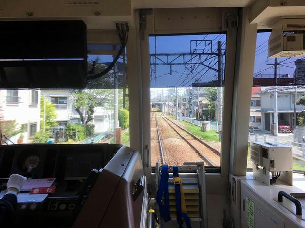奥沢-大岡山間
