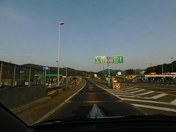 仙台南ICから東北道へ