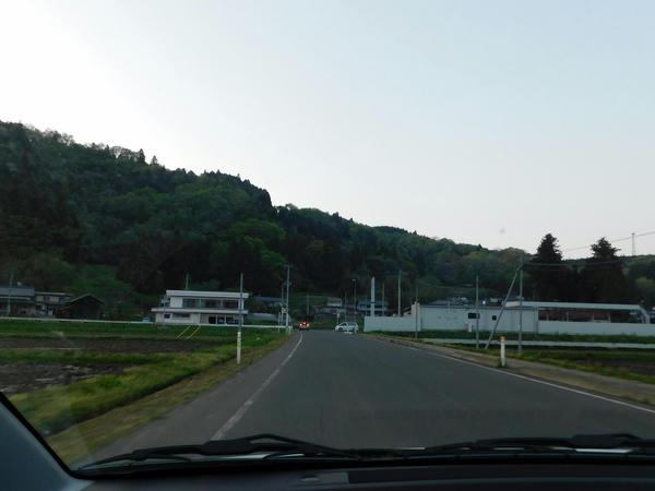 村田町道から宮城県道31号に出る手前