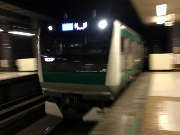 大宮駅から埼京線に乗り換え