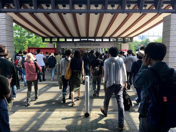 東京競馬場入口