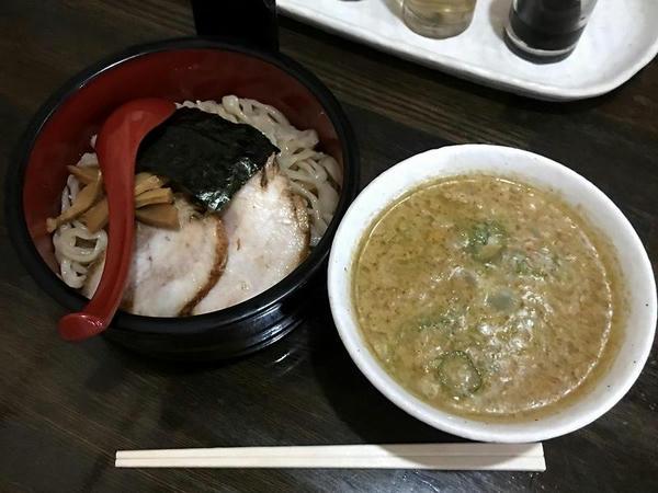 つけ麺(味噌つけ麺) 600円