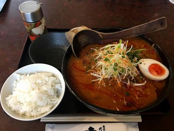味噌チゲラーメン ライスセット 990円