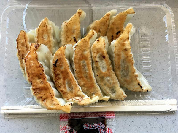 焼餃子(10個) 600円