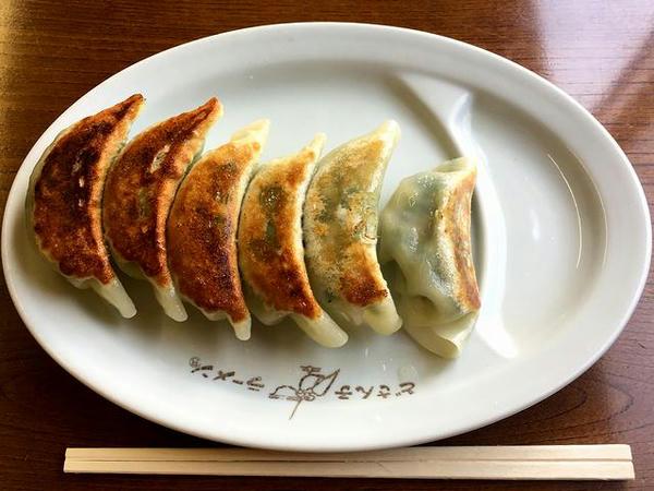 しそ餃子(6ヶ) 350円
