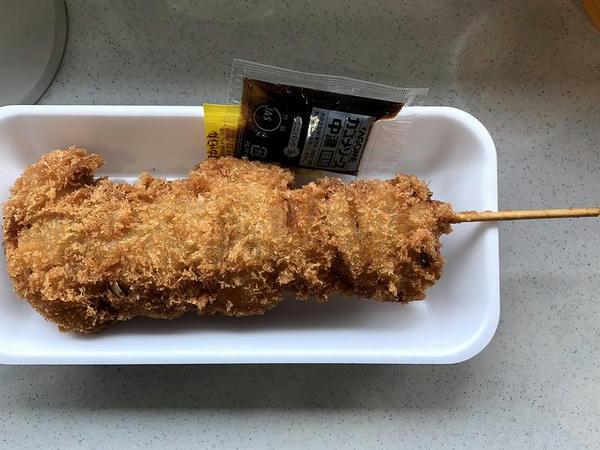 ジャンボ串カツ 350円