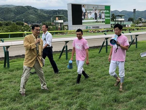 ラジオNIKKEI佐藤泉アナと山田敬士騎手、丸田恭介騎手