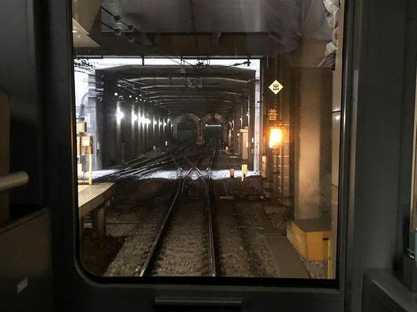 渋谷駅を発車