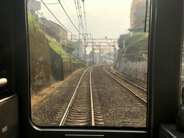 神泉-駒場東大前の切り通し