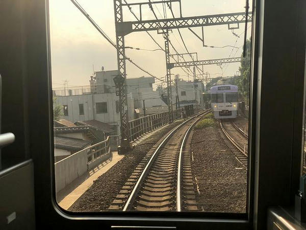 神泉-駒場東大前の高架