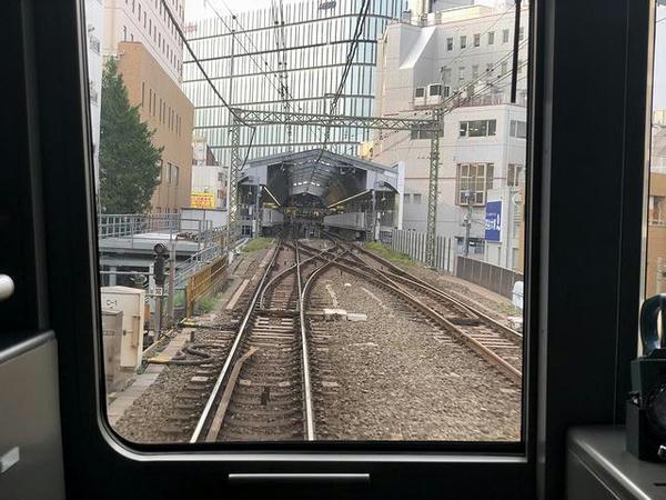 吉祥寺駅進入