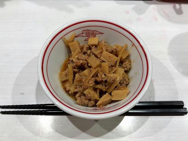 辛肉味噌 120円