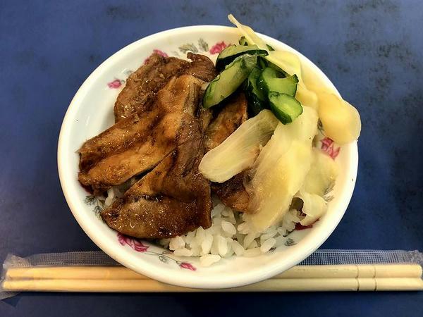 焼肉飯(小) 35元