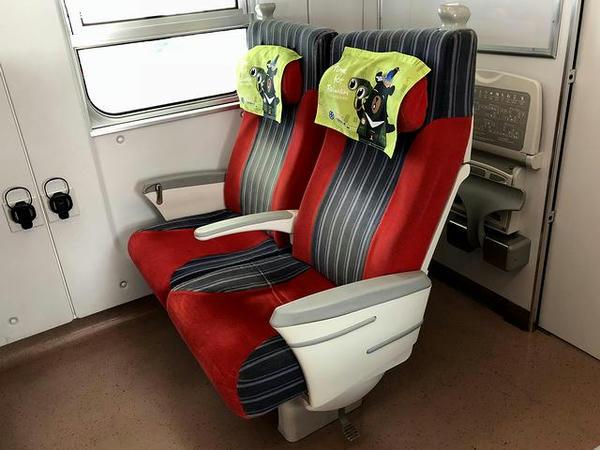 自席のシート