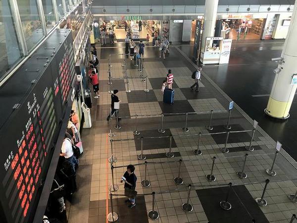(高鉄)台南駅の切符売り場