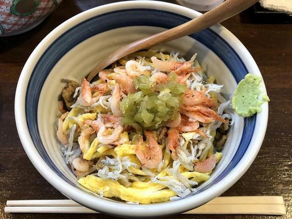 駿河丼(小)セット 350円