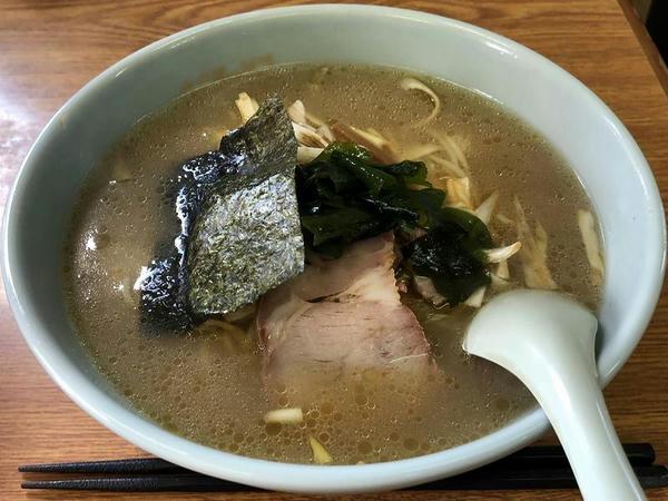 ネギラーメン(しょうゆ) 700円