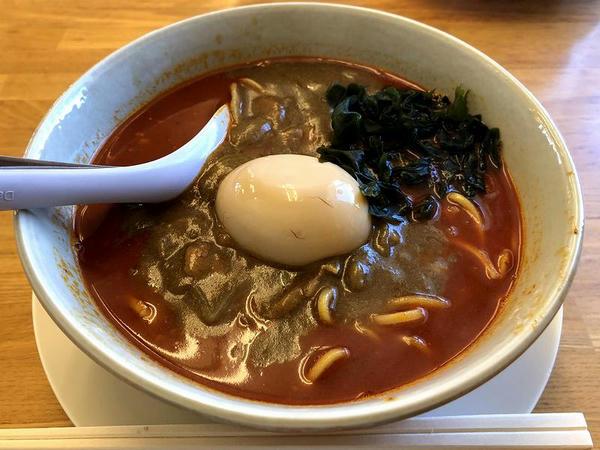 辛辛カレーラーメン 810円 + 辛さ増し激辛 120円