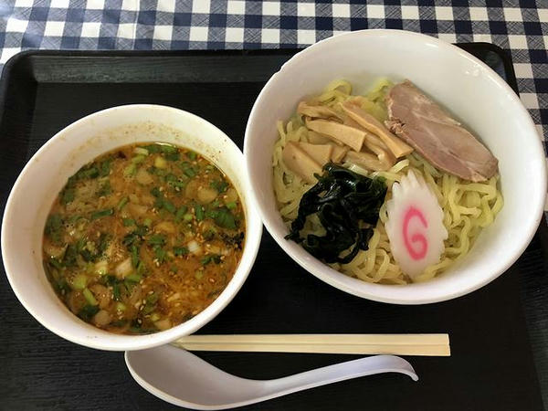 坦々つけ麺 690円