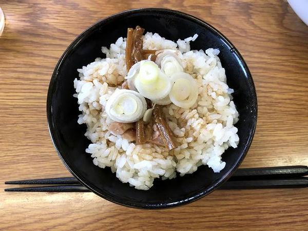 ブラビ飯(小) 200円
