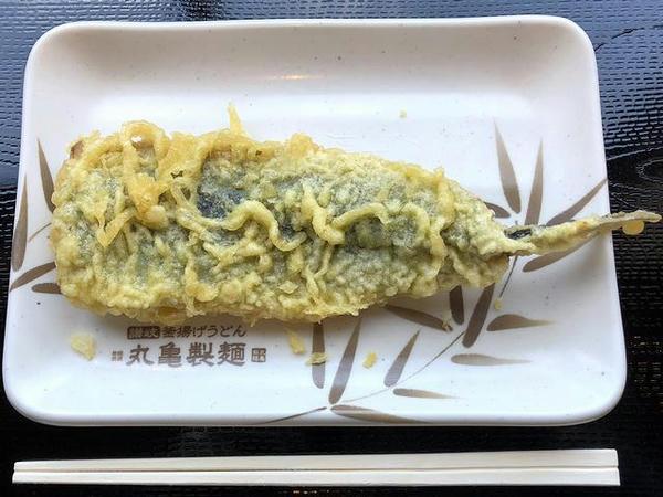 秋刀魚天 150円