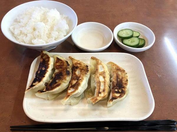 餃子セット 290円(税抜き)