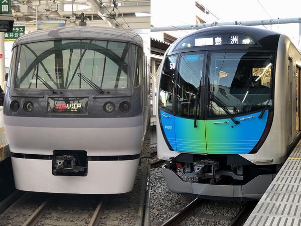 ニューレッドアロー特急小江戸号とS-TRAIN