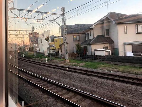 所沢駅を発車