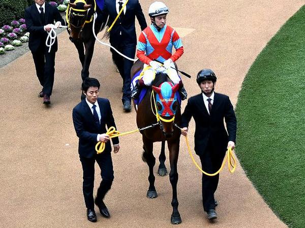 (2)クリンチャー号と福永祐一騎手