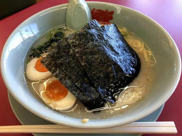 塩ラーメン 650円 + 味付玉子 110円