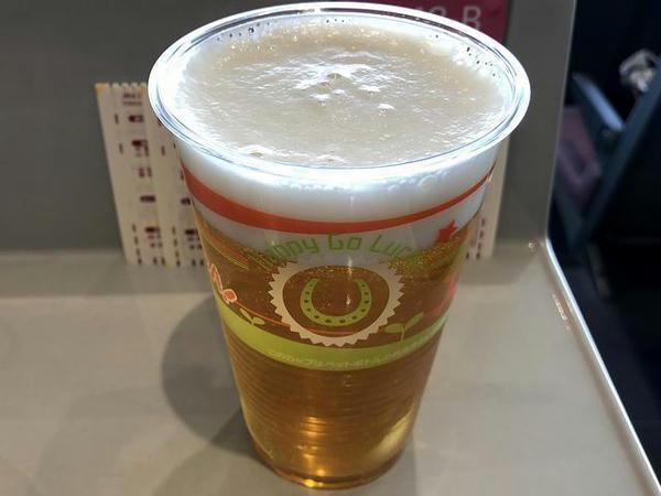 アサヒ 生ビール(中) 600円