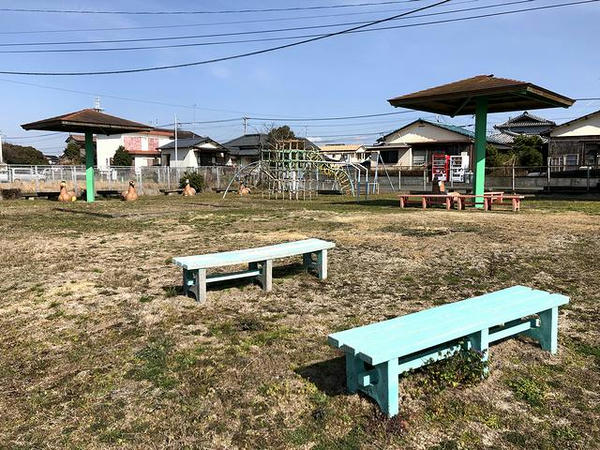 今も残る公園と遊具