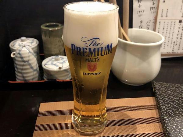 ザプレミアムモルツ 500円(税別)