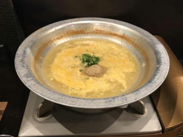 玉子雑炊 420円(税別)
