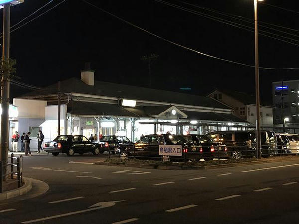 夜の鳥栖駅