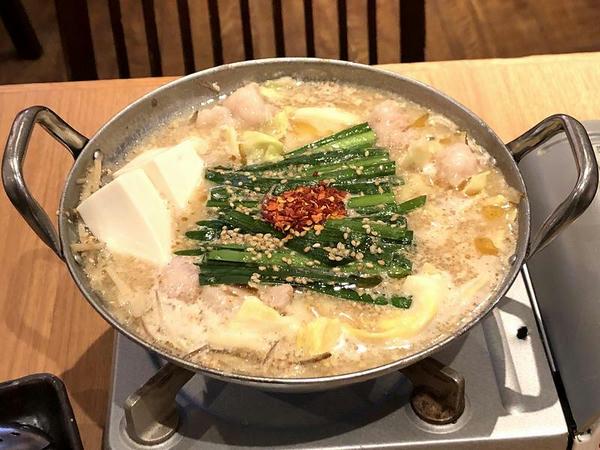 もつ鍋 みそ味 1380円(税別)