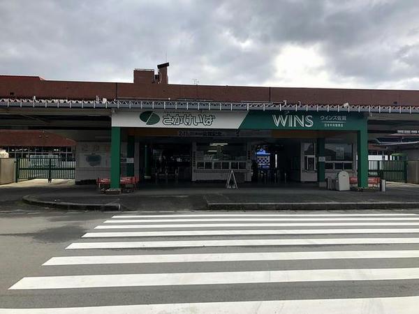 佐賀競馬場入口