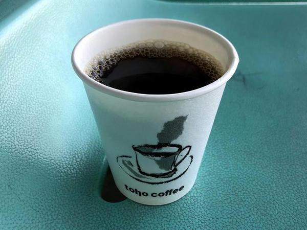 佐賀競馬場でいただいたコーヒー