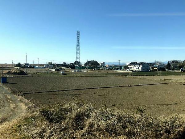 快晴の埼玉県